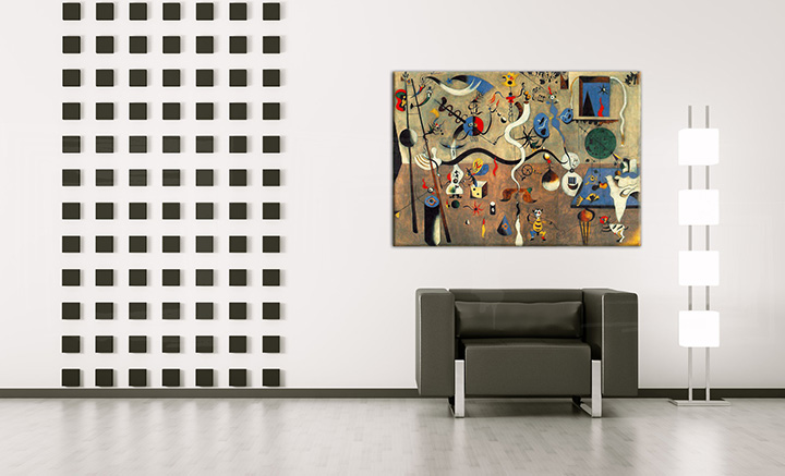 Слики на платно CARNIVAL OF HARLEQUIN – Joan Miro