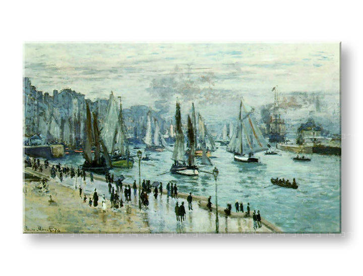 Слики на платно FISHING BOATS LEAVIN THE HARBOR – Claude Monet